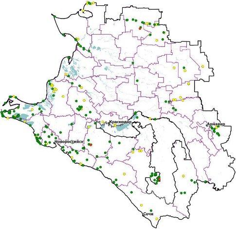 леса Краснодарского края»